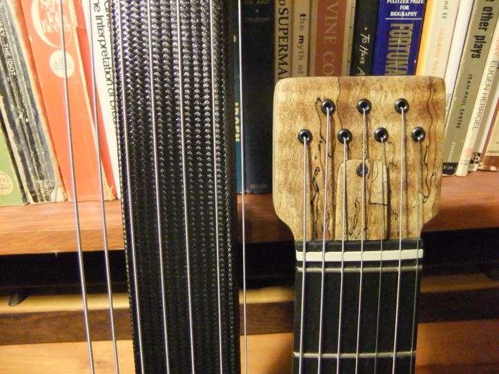 theorbo headstock